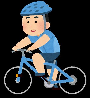 サイクリングはからだに良い??